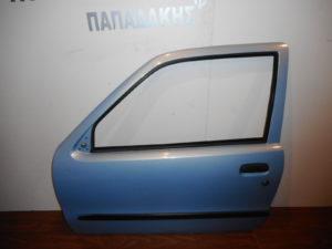 Fiat Seicento 1998-2007 αριστερή πόρτα δύθυρη γαλάζια