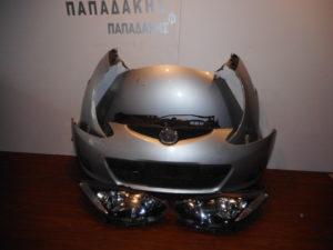 Mazda 2 2007-2010 μούρη κομπλε ασημί