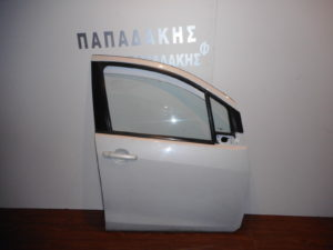 Opel Agila/Suzuki Splash 2008-2014 εμπρός δεξιά πόρτα άσπρη