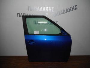 skoda fabia 2007 2014 porta empros dexia mple 300x225 Skoda Fabia 2007 2014 πόρτα εμπρός δεξιά μπλε