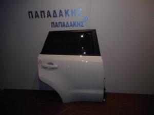Kia Soul 2008-2013 πόρτα πίσω δεξιά άσπρη