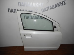Nissan Pixo/Suzuki Alto 2008-2014 πόρτα εμπρός δεξιά άσπρη