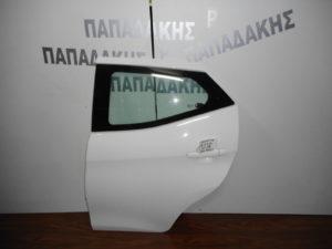 Toyota Aygo 2014-2018 πίσω πόρτα αριστερή άσπρη