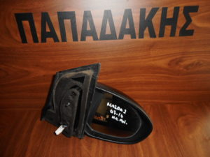 Mazda 2 2007-2014 ηλεκτρικά ανακλινόμενος καθρέπτης δεξιός μαύρος
