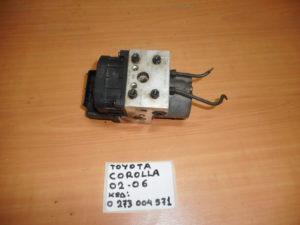 Toyota Corolla 3/5θυρο 2002-2006 μονάδα ABS κωδικός: 0 273 004 571 BOSCH
