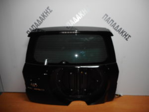 Toyota Rav 4 2006-2013 οπίσθια πόρτα μαύρη