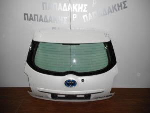 Toyota Auris 2010-2013 οπίσθια πόρτα άσπρη 3/5η