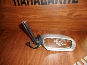 VW Touran 2003-2010 ηλεκτρικός καθρέπτης δεξιός ασημί 6 καλώδια με φλας