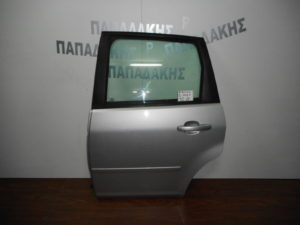 Ford Focus C-Max 2003-2010 πόρτα πίσω αριστερή ασημί
