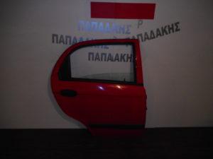 Chevrolet Matiz 2005-2009 πόρτα πίσω δεξιά κόκκινη
