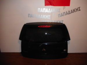 Mitsubishi Colt 2008-2012 οπίσθια πόρτα μαύρη 5πορτο