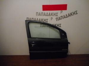 Toyota Aygo/Citroen C1/Peugeot 107 2006-2014 πόρτα εμπρός δεξιά ανθρακί