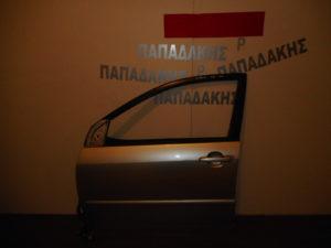 Toyota Corolla 2002-2006 πόρτα εμπρός αριστερή ασημί βίδες ίσιες
