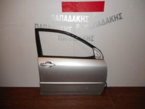 Toyota Corolla 2002-2006 πόρτα εμπρός δεξιά ασημί βίδες ίσιες