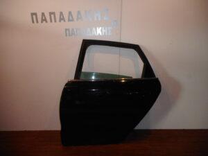 Citroen C4 2011-2020 πίσω αριστερή πόρτα μαύρη
