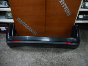 Fiat Doblo 2010-2019 πίσω προφυλακτήρας ανθρακί με μονή πόρτα