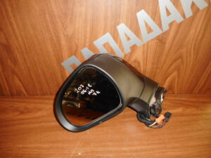 Peugeot 207 2006-2012 ηλεκτρικός καθρέπτης αριστερός μαύρος 7 καλώδια